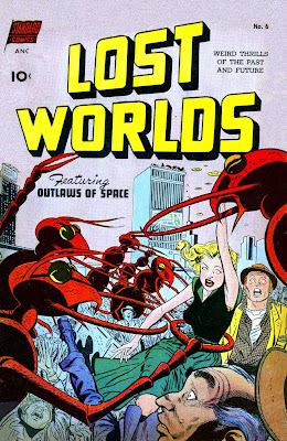 Lost Worlds v1 #6 standard 1950s science fiction comic book cover art by Alex Toth