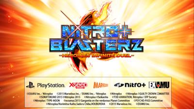 Gameplay Trailer per Nitroplus Blasterz Heroines Infinite Duel