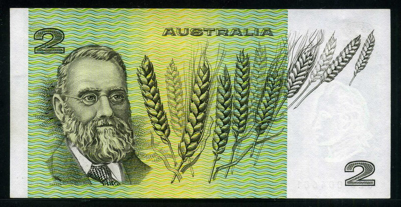 Australian two dollar note