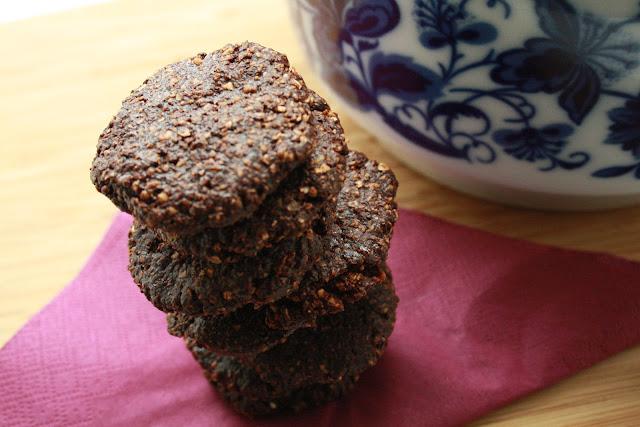 čokoládové sušenky bez lepku bez laktózy