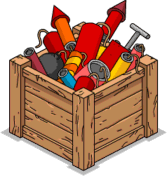 Crate of Fireworks