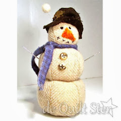 Wollige sneeuwman speldenkussen