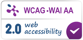 Technosite WCAG-WAI AA certification: opens in new window