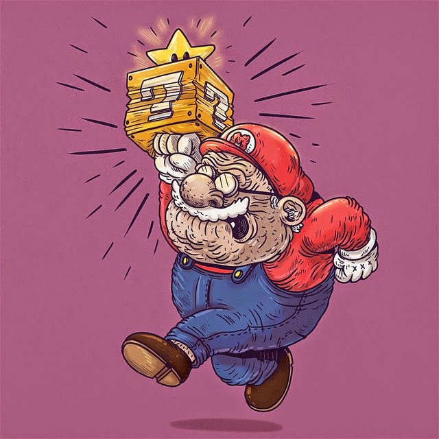 Super Mario - Famous Oldies por Alex Solis