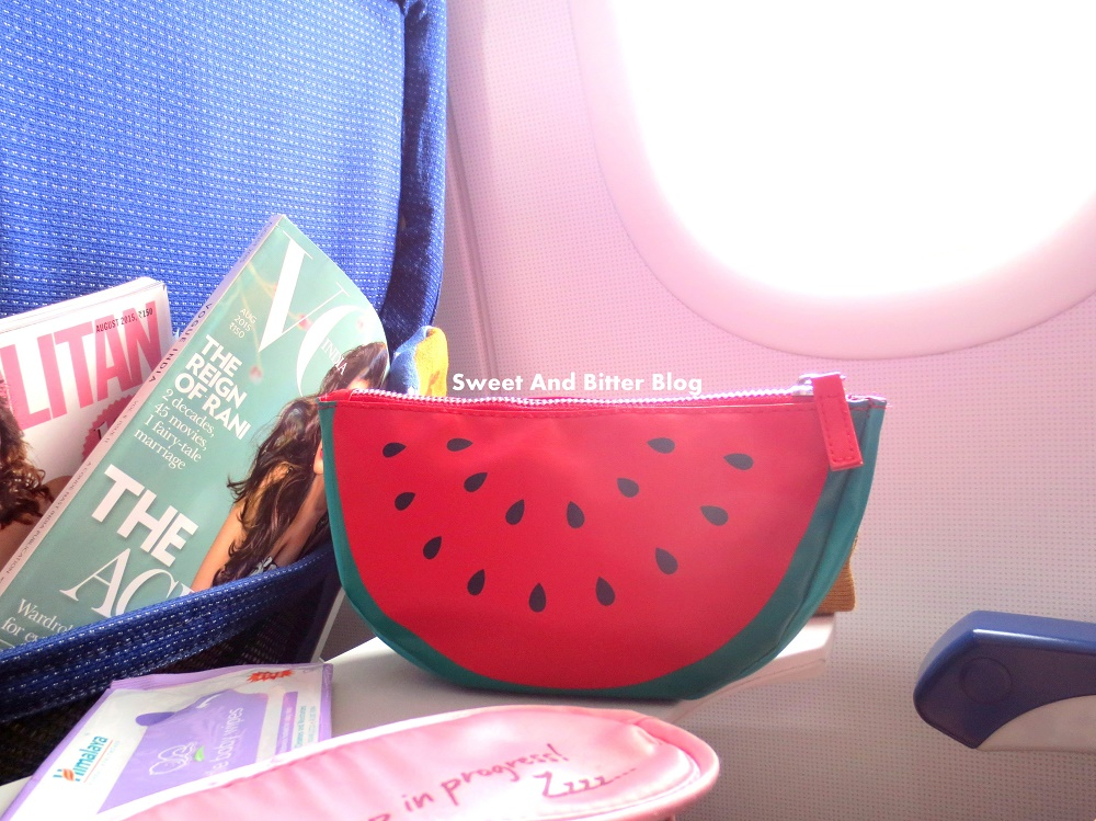 My In-Flight Essentials || Skincare, Makeup, Etc | Sweet and ...