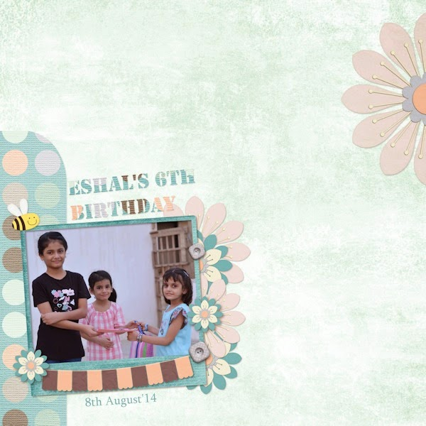 CT Layout 2 using Egg Hunt by Charley Renay Designs