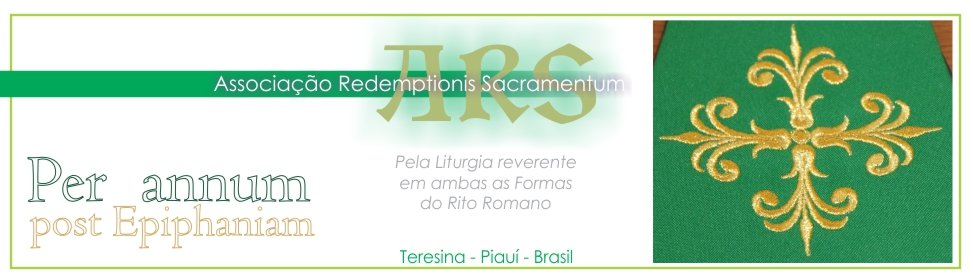 Associação Redemptionis Sacramentum
