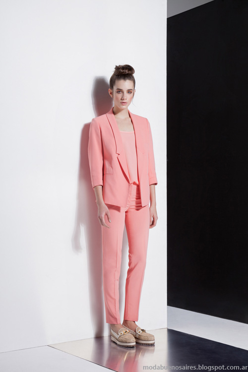 Carmela Achaval primavera verano 2014 trajes de mujer.