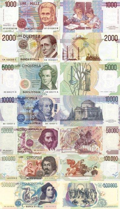 ninni and mary: La Lira non più convertibile in Euro