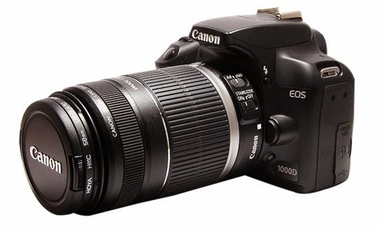Harga dan Spesifikasi Camera DSLR Canon EOS 1000D Lengkap Baru