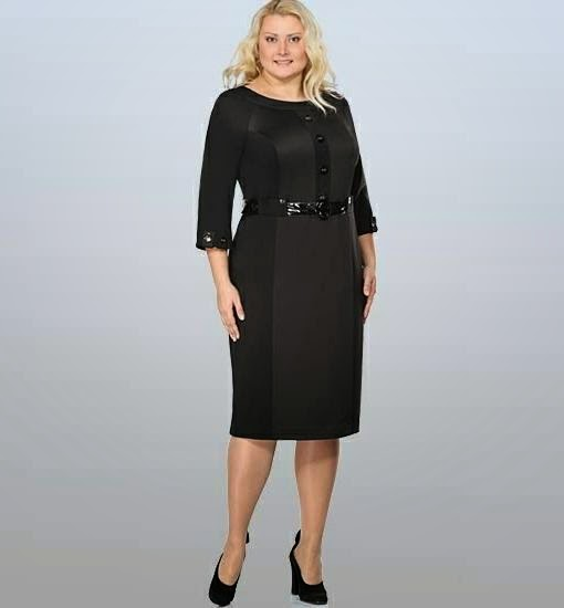 sezonmoda.ru - Платья для полных женщин стильные