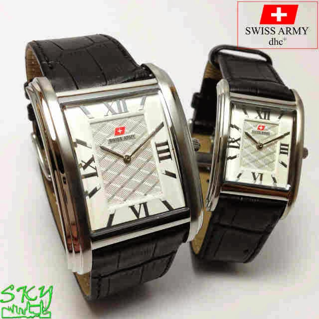 Swiss Army SA 8899 Couple silver
