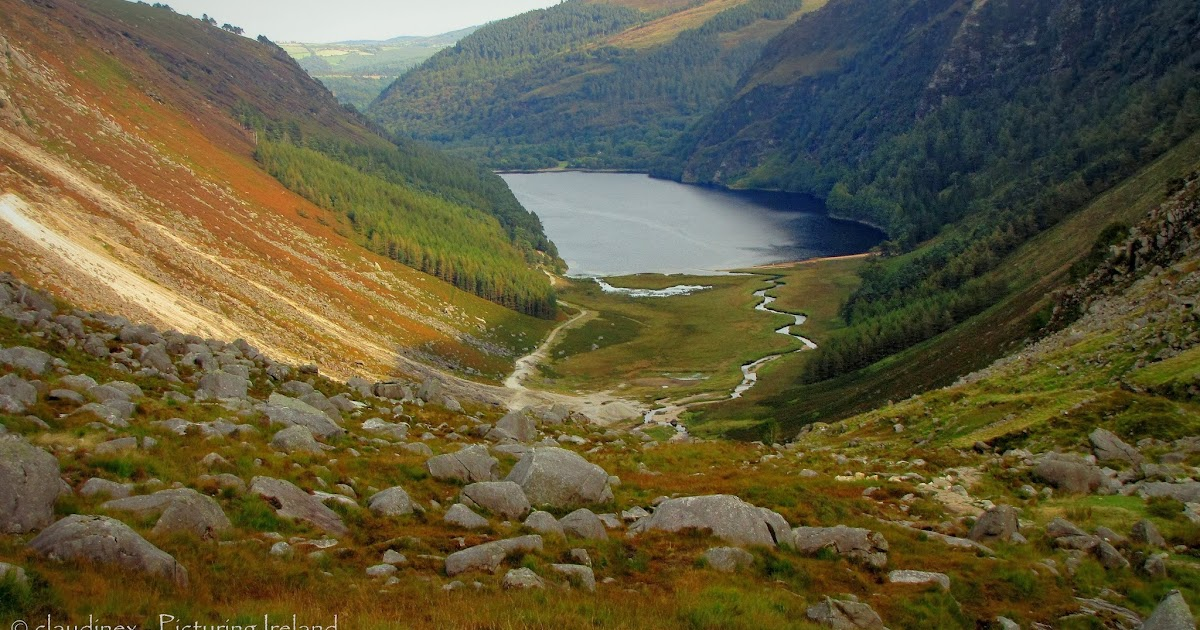 Picturing Ireland Glenealo Valley In The Wicklow Mountains
