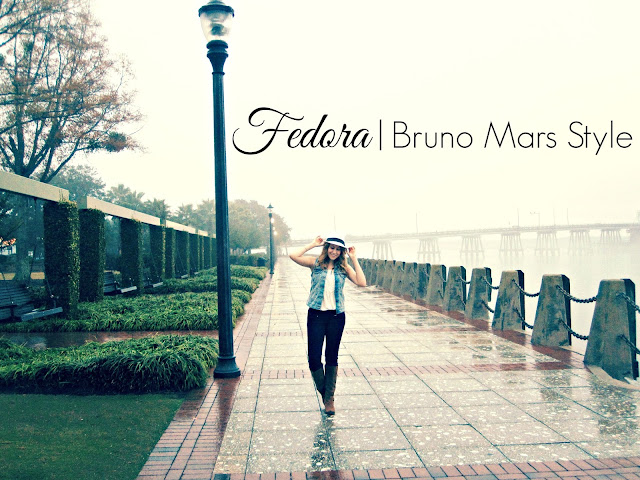 Fedora | Bruno Mars Style