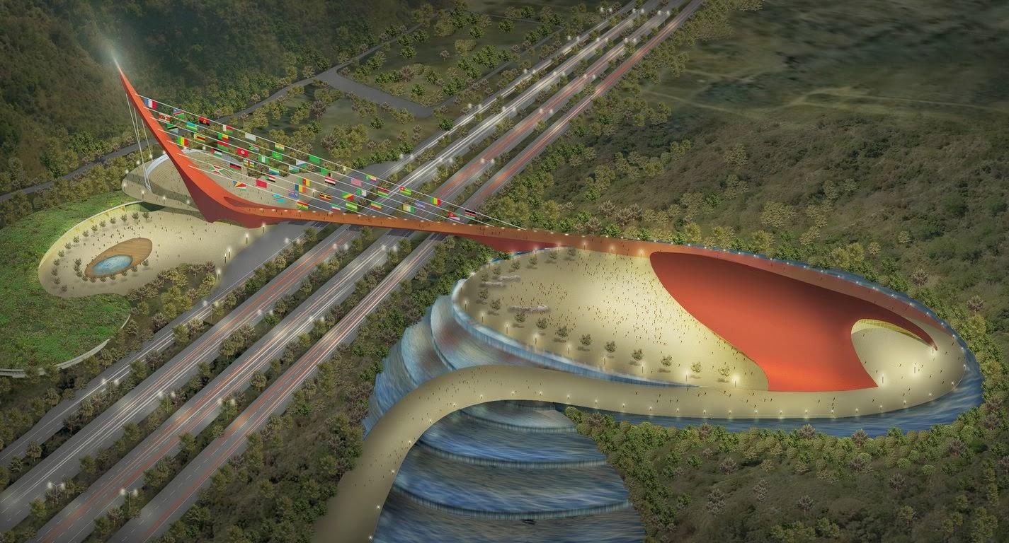 Photos Of Nigeria Abuja City Gate Present And Future Design