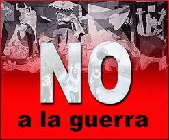 NO A  LA GUERRA!!