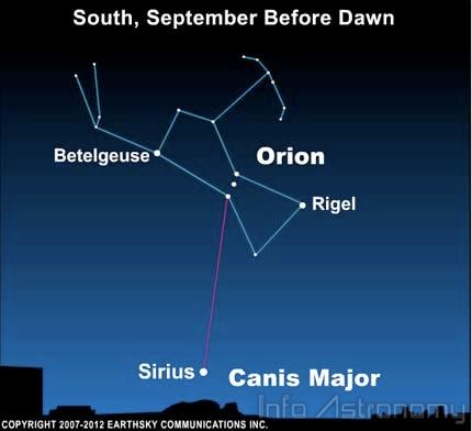 Sirius, Bintang Tercemerlang di Langit Malam