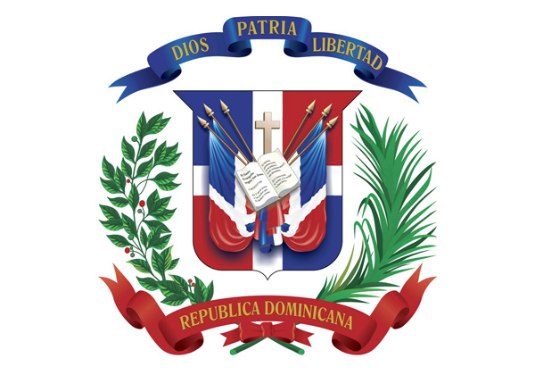Republica Dominicana steag