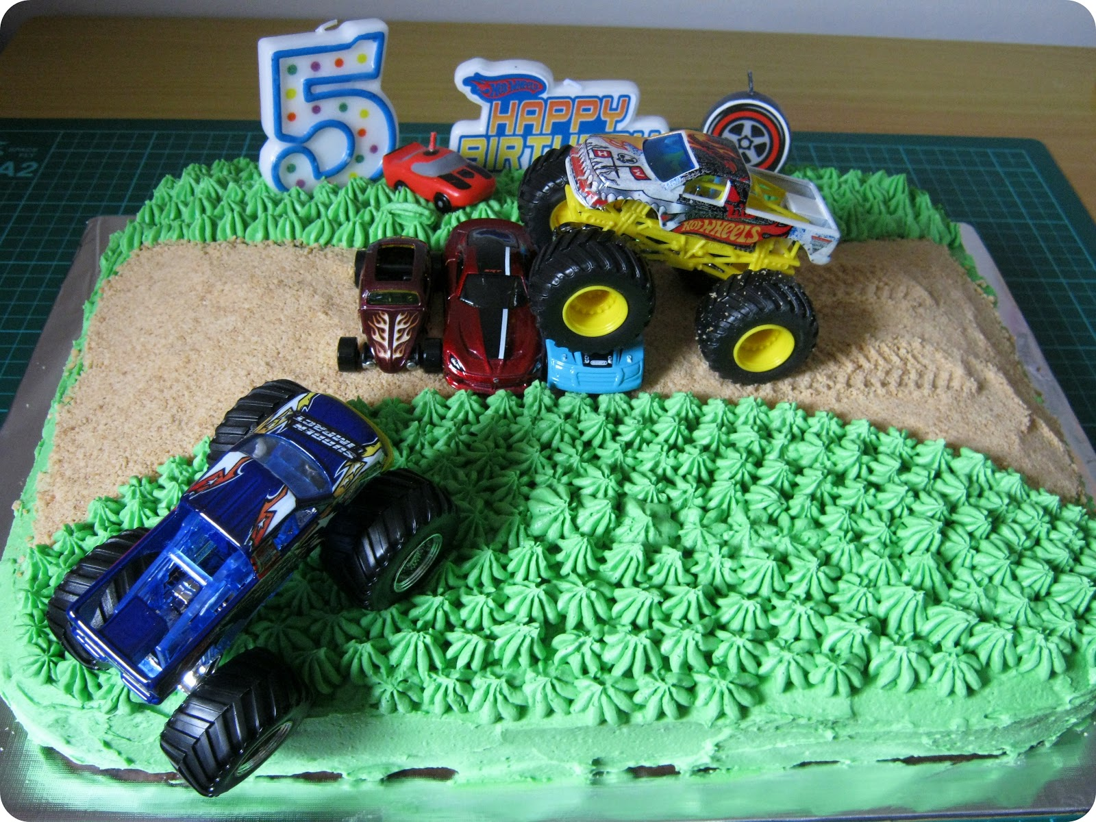 STITCH by Fay My Creative Space Monster Truck Cake