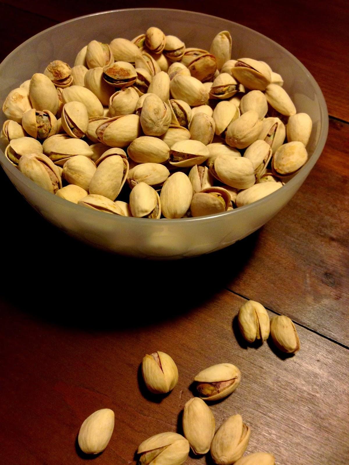 frollini al cacao e pistacchi