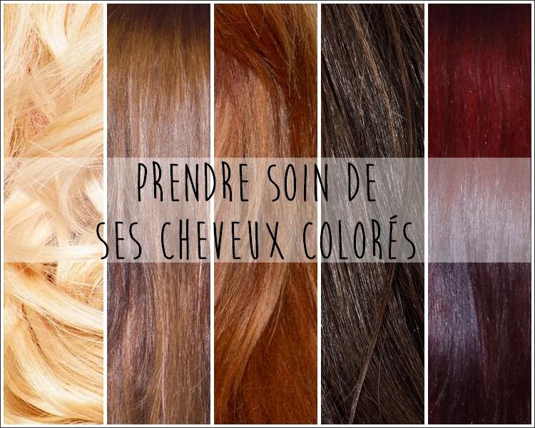 Coloration maison sur cheveux colores