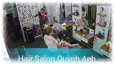 Hình Ảnh Hoạt Động Salon Tóc Quỳnh Anh Cơ Sở 1