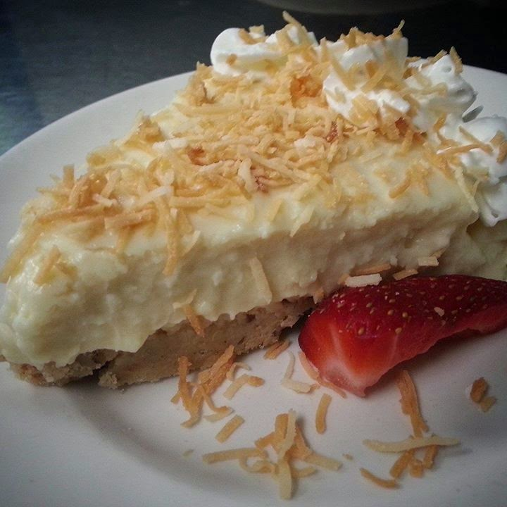 Coconut Cream Pie from Village Wayside Grill in Asheville