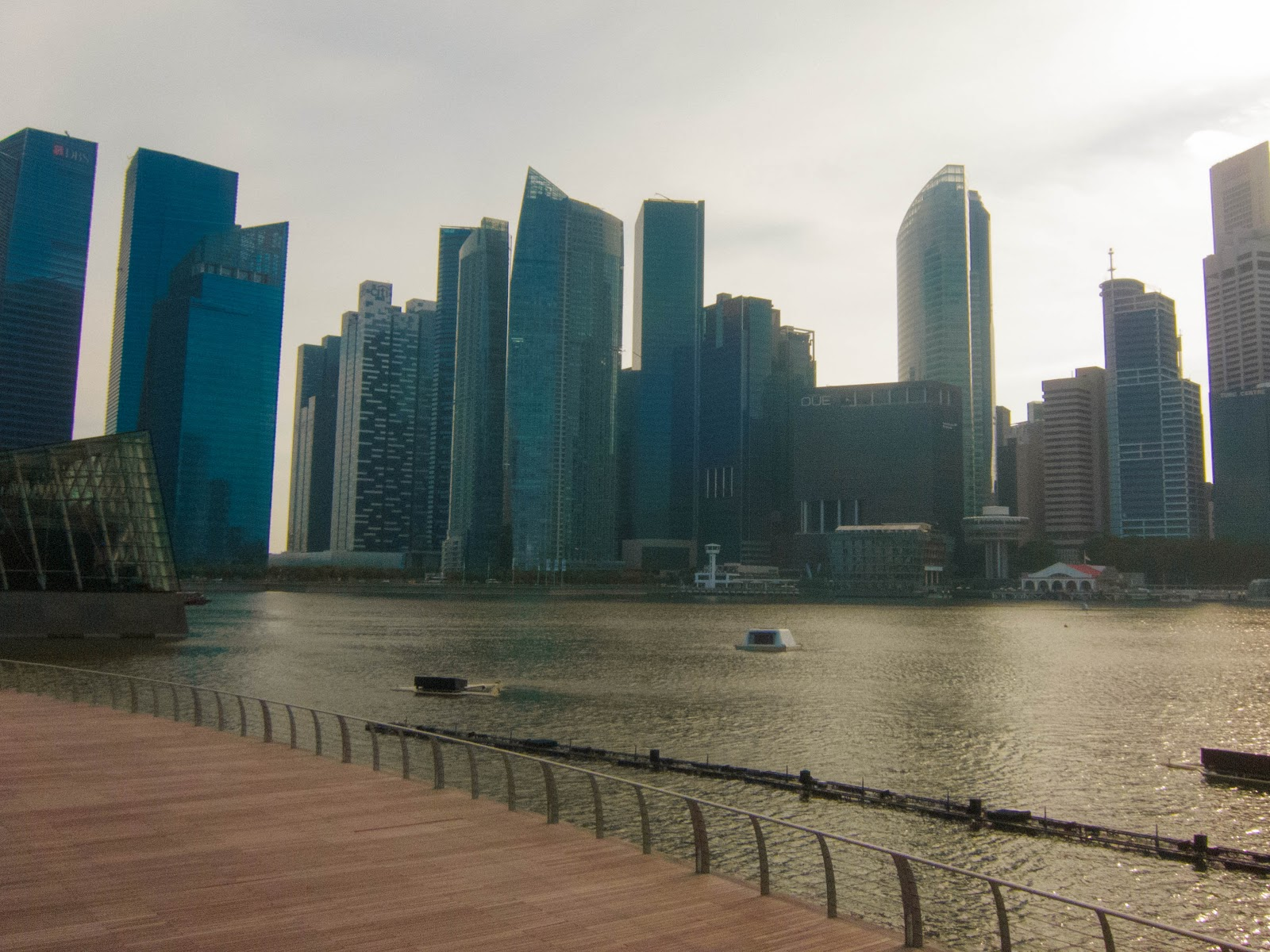 Singapore skyline from Marina Bay Sands | Svelte Salivations - Travel