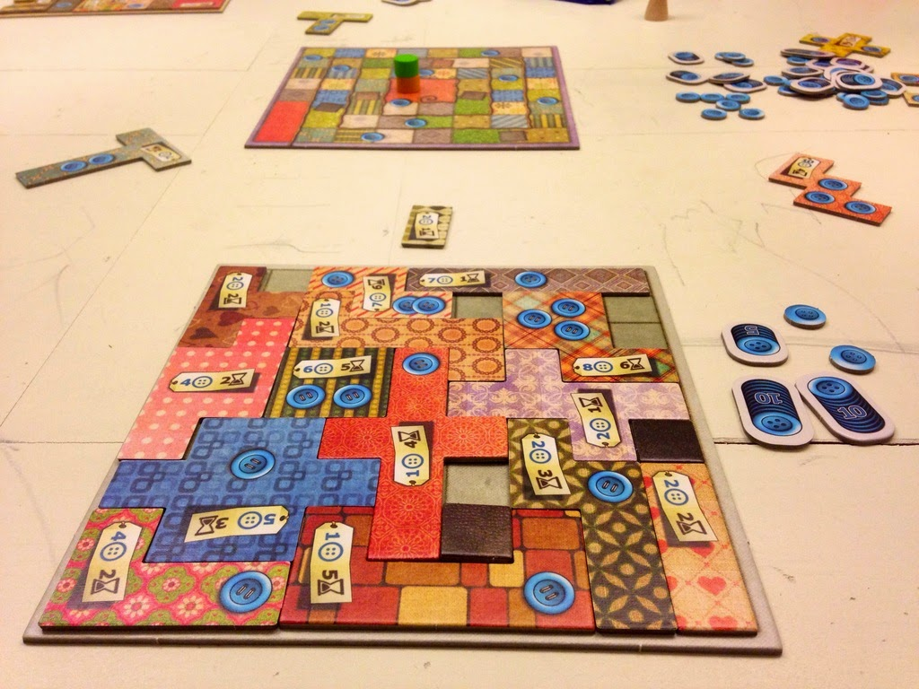 Patchwork Recensione Giochi Sul Nostro Tavolo