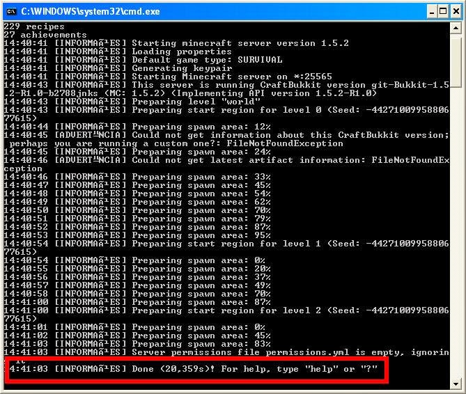 Bukkit server download