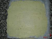 Brazo gitano salado-estirando papas