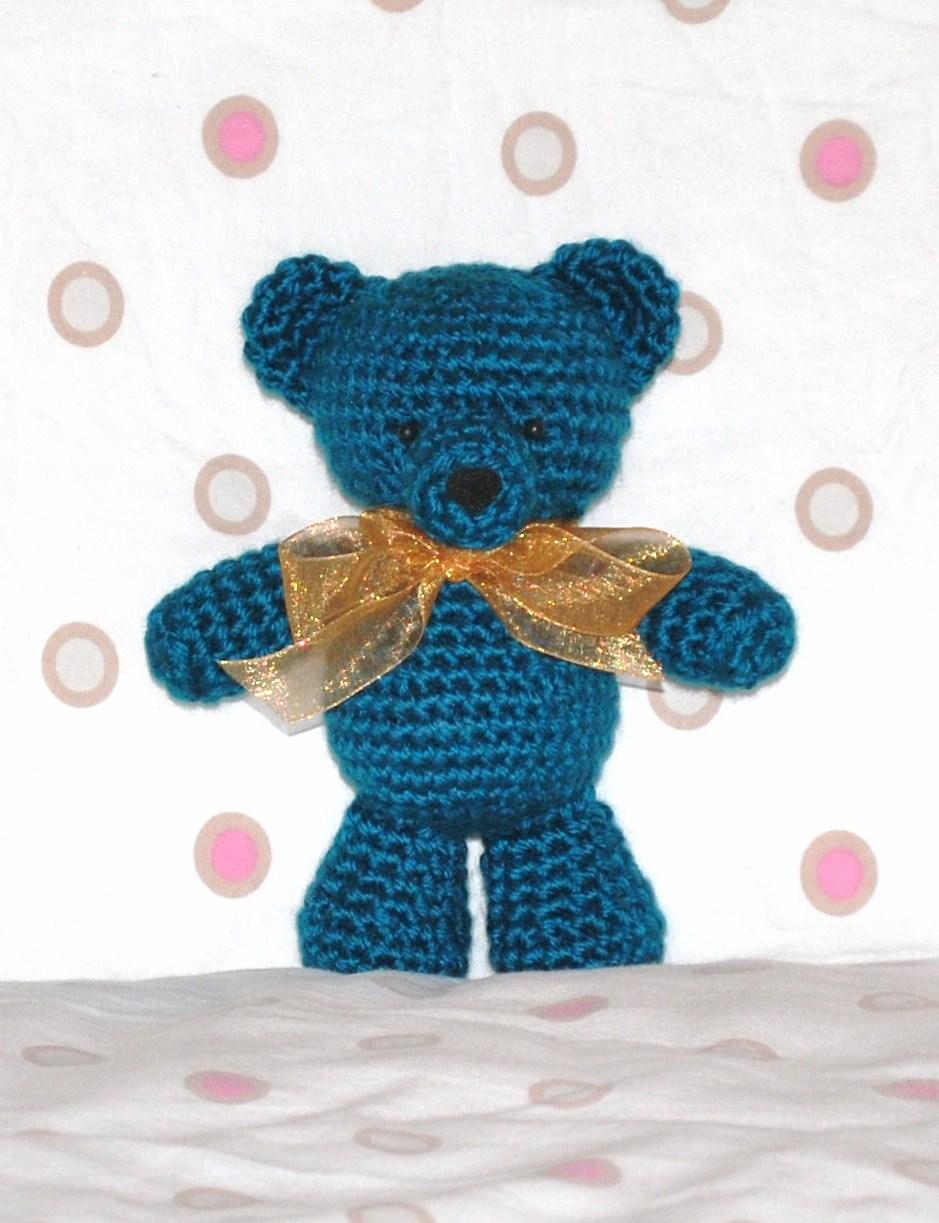 Free Easy Crochet Teddy Bear Patterns : Crafty Hanako: Basic Teddy Bear Pattern