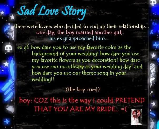 Sad Love Story Quotes