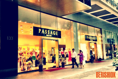 Front door of Passage New York
