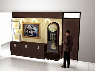 Semarang Furniture Interior - desain background dinding rumah 01
