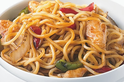 Chicken Lo Mein, recipes courtesy of www.diabetichealthandwellness.com/