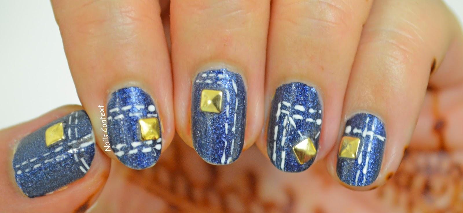 Nails Context: Denim