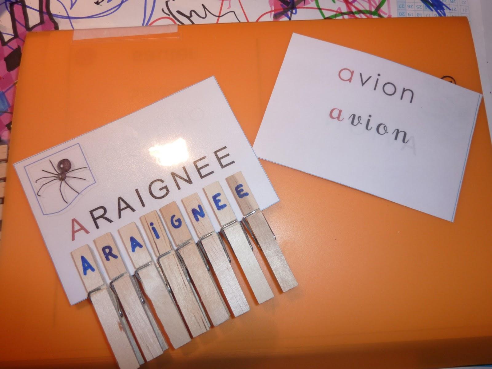 Janvier 2013 - Activite pince a linge maternelle ...