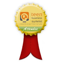 attendee badge Teen Business Summit   Global Entrepreneurship Online Event