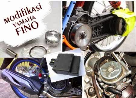 Tips Meningkatkan Kecepatan Yamaha Fino