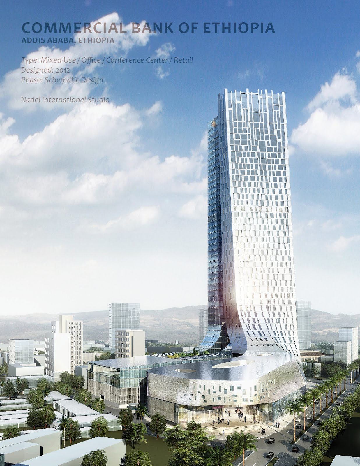 commercial bank of ethiopia Chinese company to build tallest building in e africa  the commercial bank of ethiopia (cbe) has signed an agreement with the china state construction engineering.