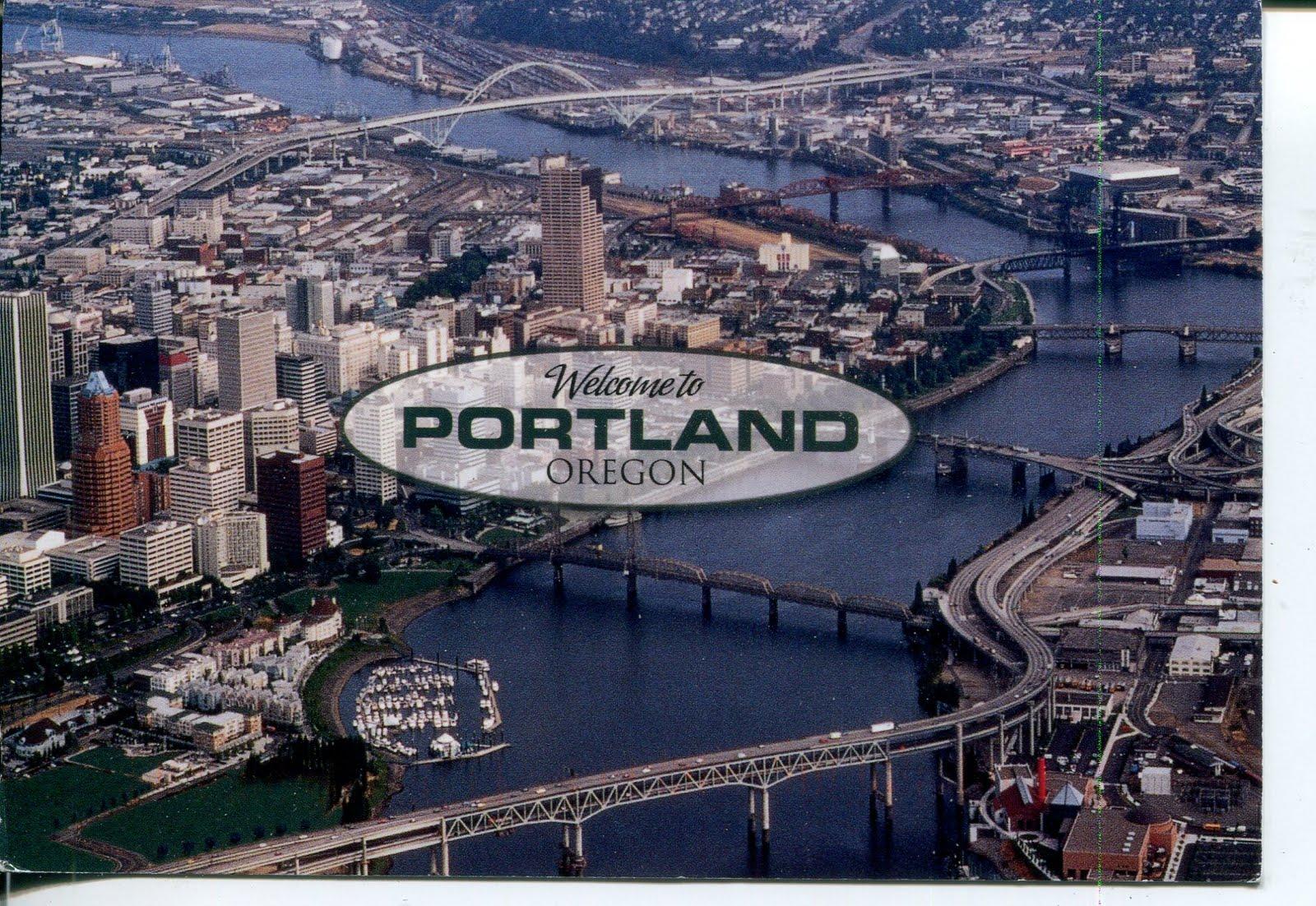 collect roc usa postcard portland oregon