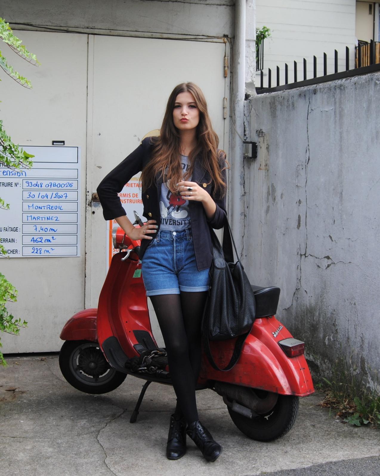 Sara Jean Underwood Bike Cool show me a bike: show me a vespa!