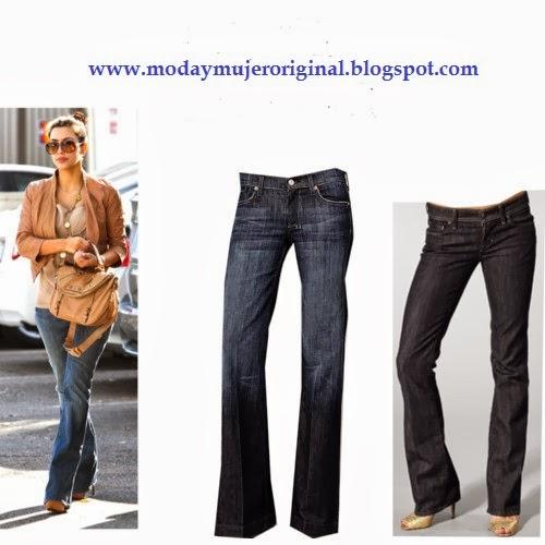 pantalones que disimulan las caderas