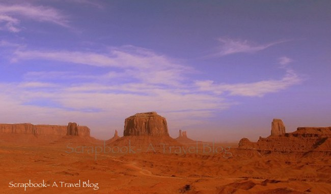 Panorama of Monument Valley Tribal Park