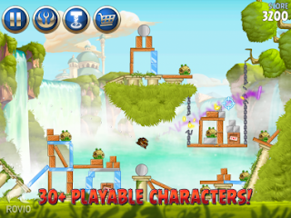 Game Angry Birds Star Wars II