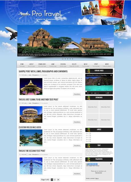 Contoh Website Untuk Travel