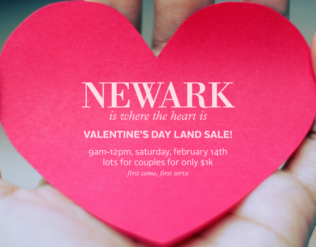 Awesome Newark Valentines Day Land Sale 2018 Collections