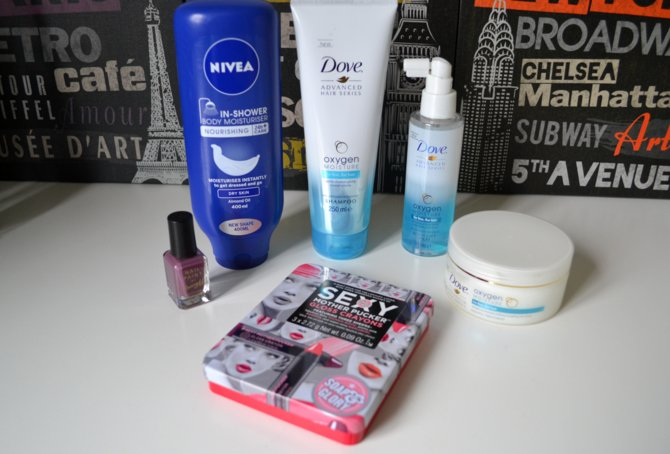 Beauty Haul | Dove, Soap & Glory, Barry M