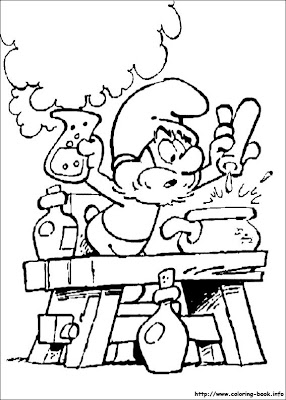 Smurf Coloring Pages,Coloring Pages Smurf